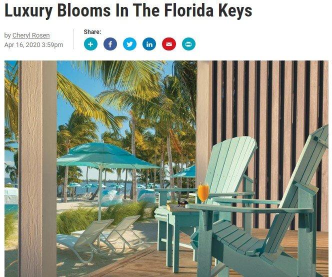 Luxury Blooms In The Florida Keys